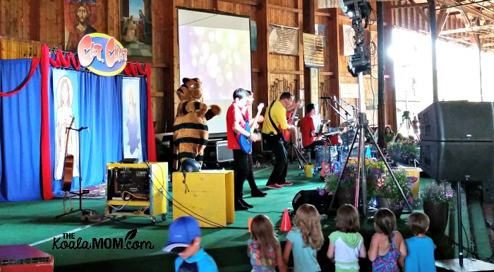 Cat Chat concert at the 2015 Catholic Family Life Conference