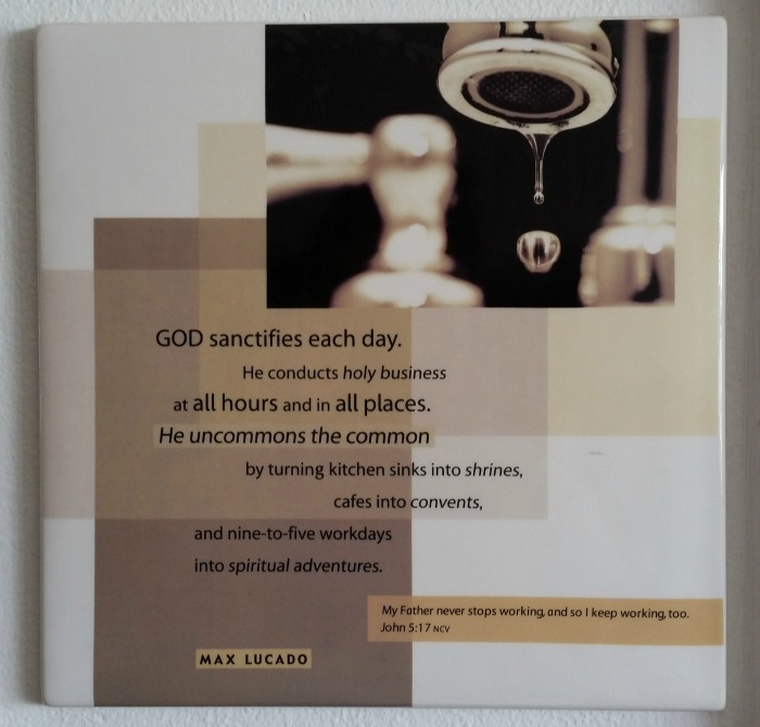Max Lucado Quote: God sanctifies each day