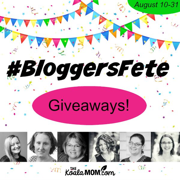 BloggersFete giveaways!