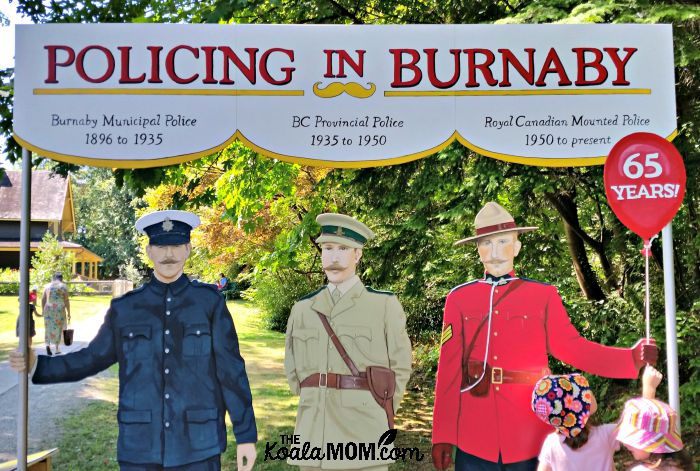 A brieft history of the police force in Burnaby