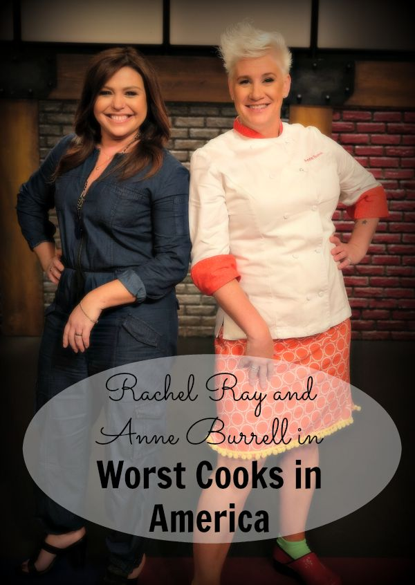Rachel Ray and Anne Burrell host 7 all-start contestants in the Worst Cooks in America TV series