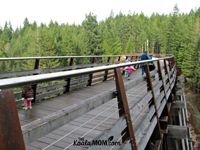Crossing the Kinsol Trestle