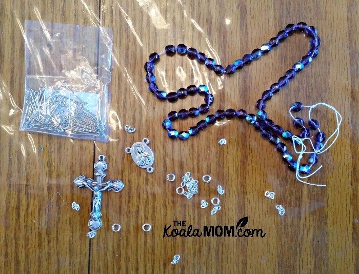 Rosary supplies