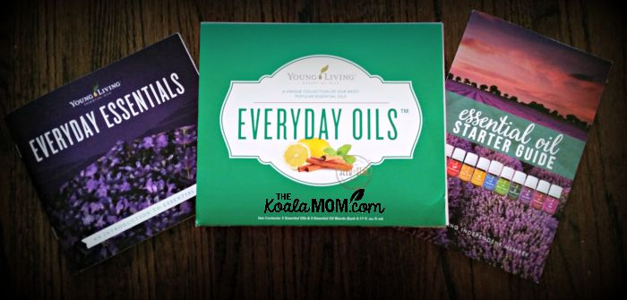 Young Living Everyday Oils collection