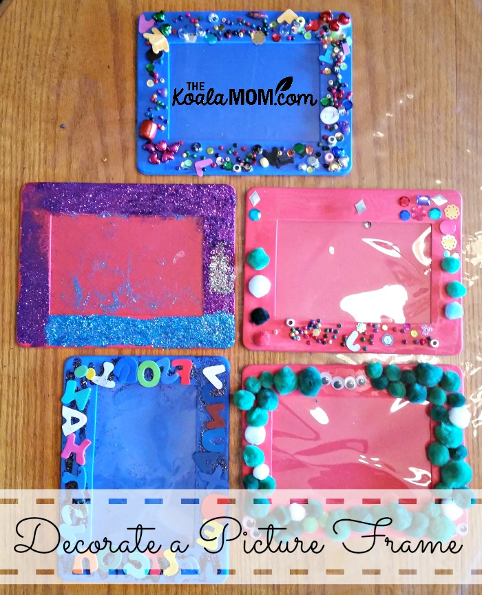 Decorate a picture frame the koala mom for How to decorate