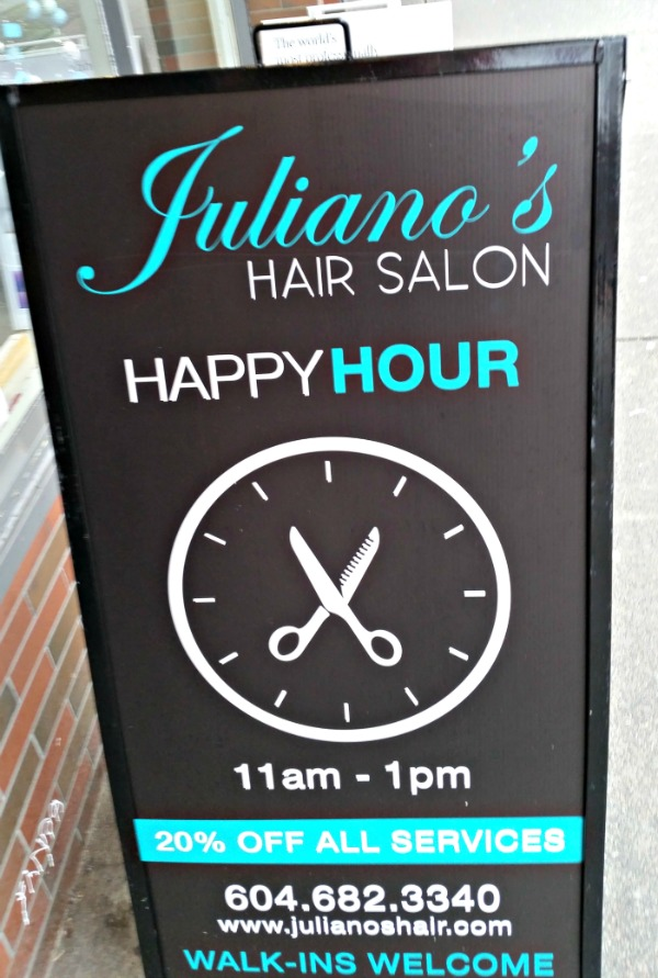 Juliano's Hair Salon in Vancouver, BC
