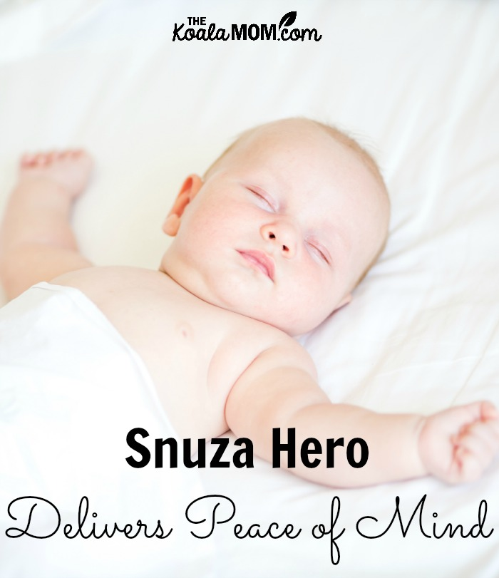 Snuza Hero Portable Baby Movement Monitor Delivers Peace of Mind