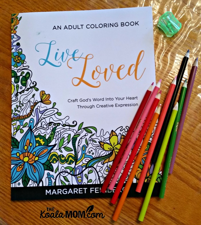 Live Loved: An Adult Colouring Book by Margaret Feinberg