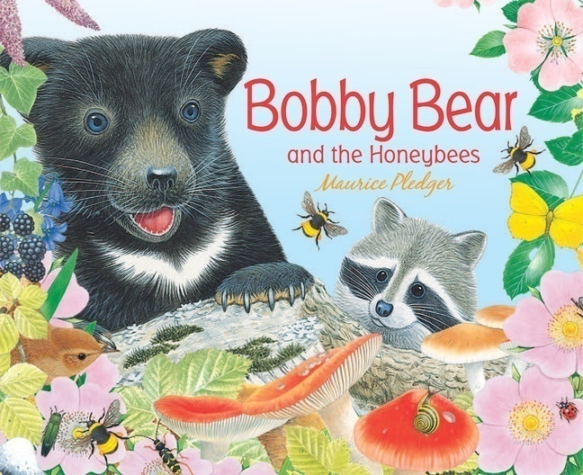 Bobby Bear and the Honeybees, one of my 3-year-old's favourite lift-the-flap board books for toddlers