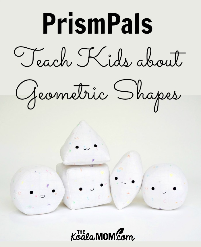 PrismPals teach kids about geometric shapes