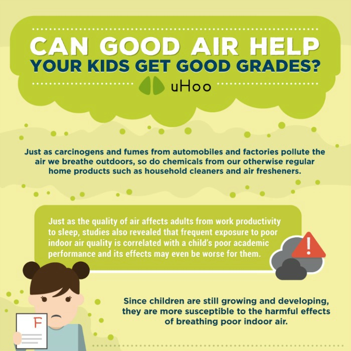 Can Good Air Help Kids Get Good Grades?