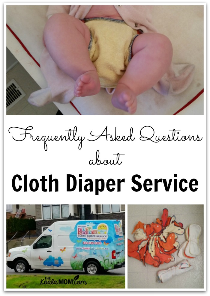 Frequently Asked Questions about cloth diaper service
