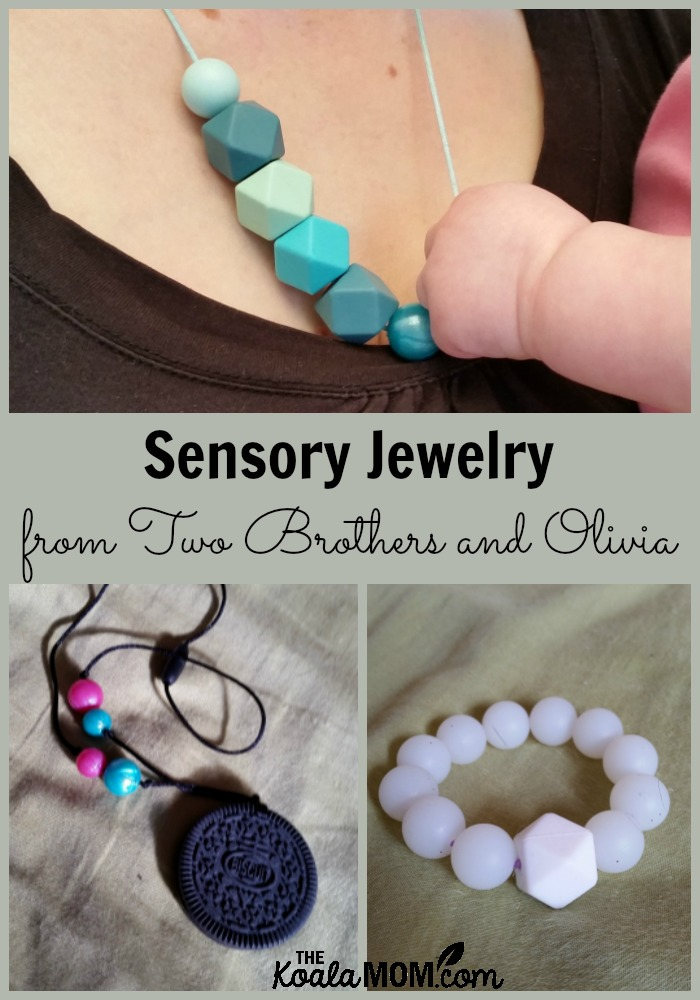 Sensory Jewelry from Two Brothers and Olivia