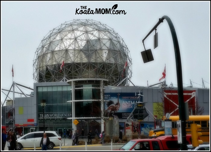 Telus World of Science in Vancouver during Spring Break