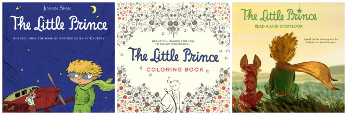 The Little Prince Books - storybook, colouring book, and graphic novel