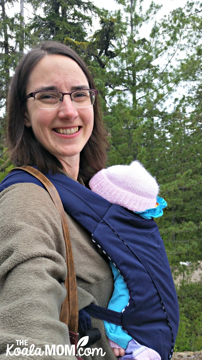 Hiking the Sea to Sky Gondola trails with the Mountain Buggy Juno carrier