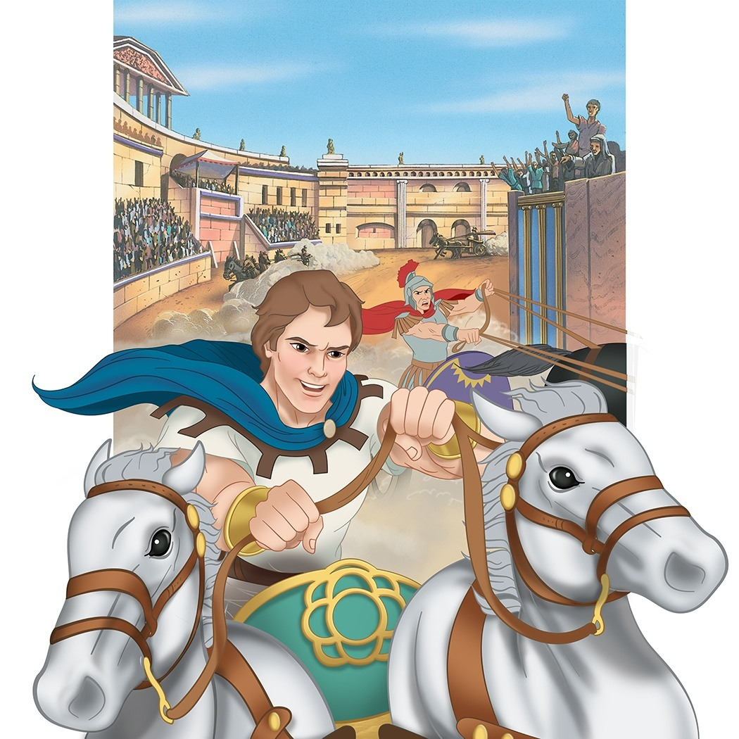 Ben Hur: A Race to Glory (Saints and Heroes series from CCC of America)