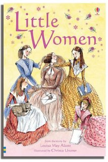 Little Women in the Usborne Young Reading series, a great novel series for grade 2 girls