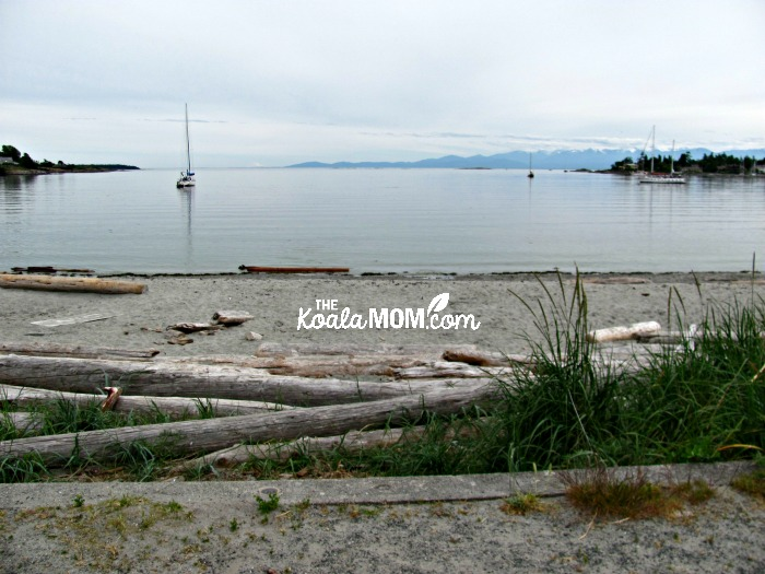 Cadboro Bay, one of our favourite beaches near VIctoria, BC