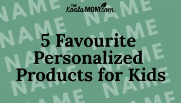 5 Favourite Personalized Products for Kids