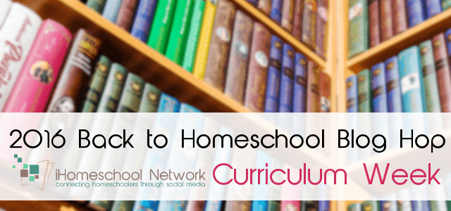 2016 Back to School blog hop: Curriculum Week