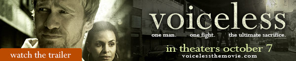 Voiceless movie in theatres October 7