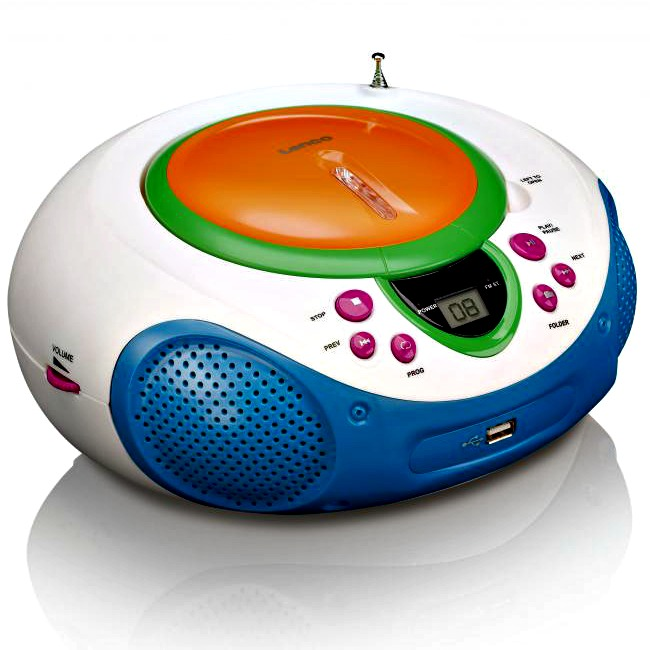A colourful, kid-friendly CD player is one of my favourite homeschool tools.