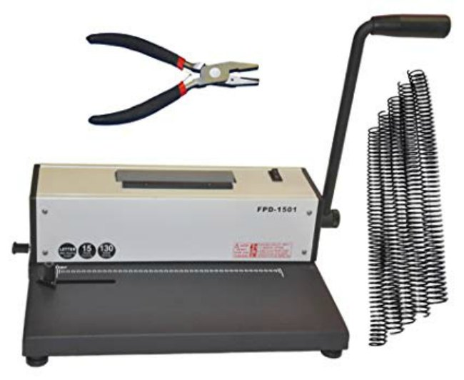 A coil binder is on my wishlist for homeschool tools.