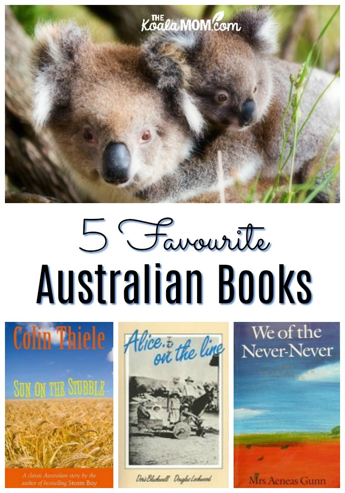 5 Favourite Australian Books - Have you ever dreamed of traveling Down Under? Get started with these amazing Aussie novels, set in various places around Australia, which will draw you into the heart of the country and its intriguing history.