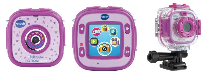 VTech Kidizoom Action Cam in purple - one of the VTech toys in my Christmas gift guide