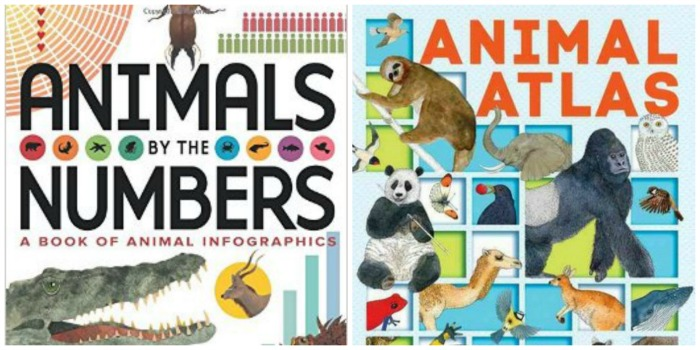 All about animals: 2 awesome books for kids