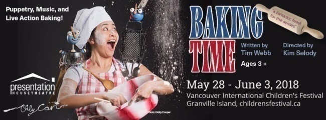 Baking Time play at the Vancouver International Children's Festival