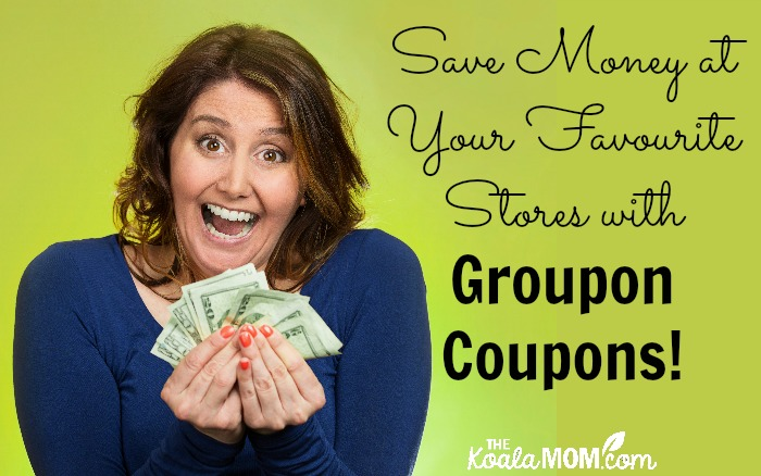 Save Money at Your Favourite Stories with Groupon Coupons!