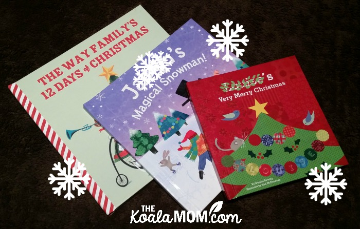 I see Me Personalized Christmas books