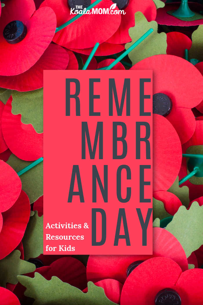 Remembrance Day: activities and resources for kids