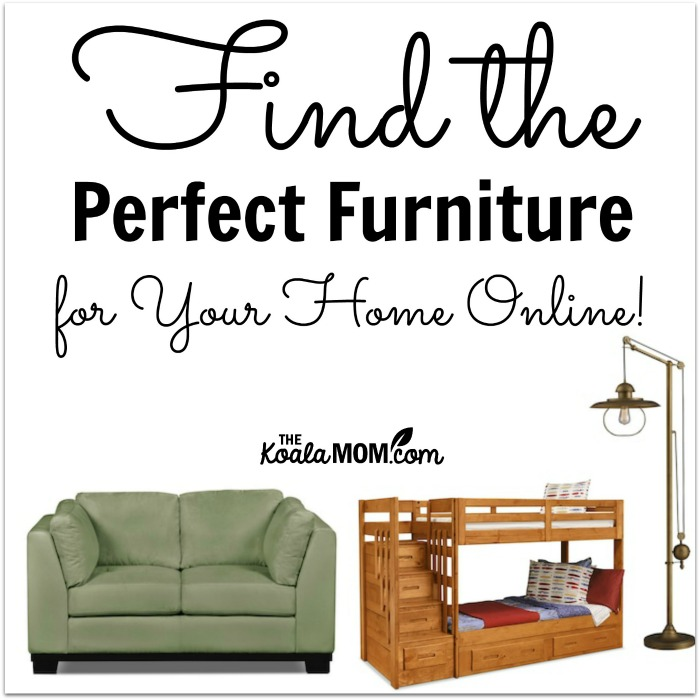 Finding furniture for your home online is easy and fun for Furnish your home online