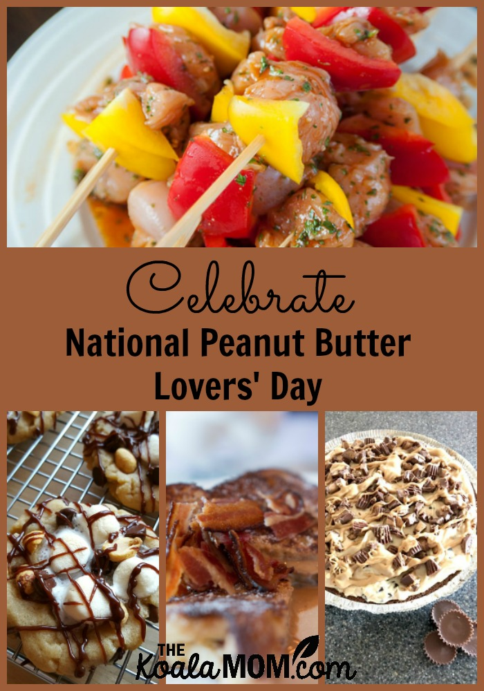 Celebrate National Peanut Butter Lovers' Day