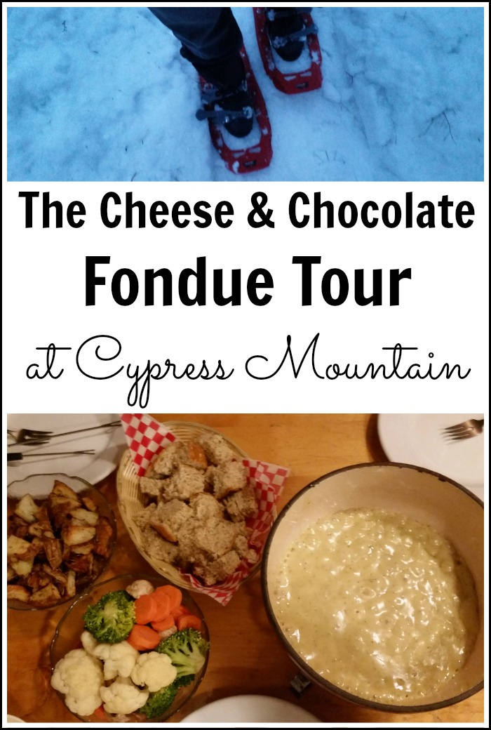 The Cheese & Chocolate Fondue Tour at Cypress Mountain Resort