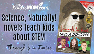 Science, Naturally! novels teach kids about STEM through fun stories