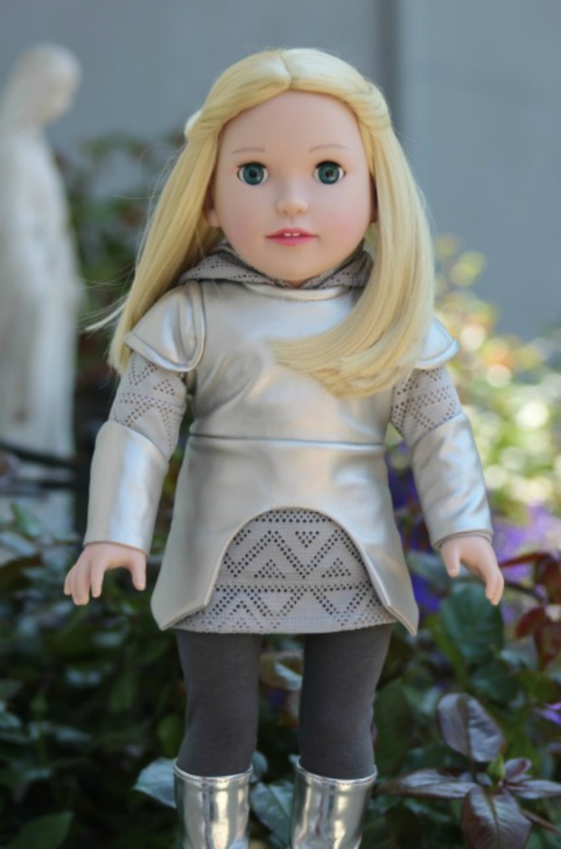 St. Joan of Arc doll from Dolls from Heaven