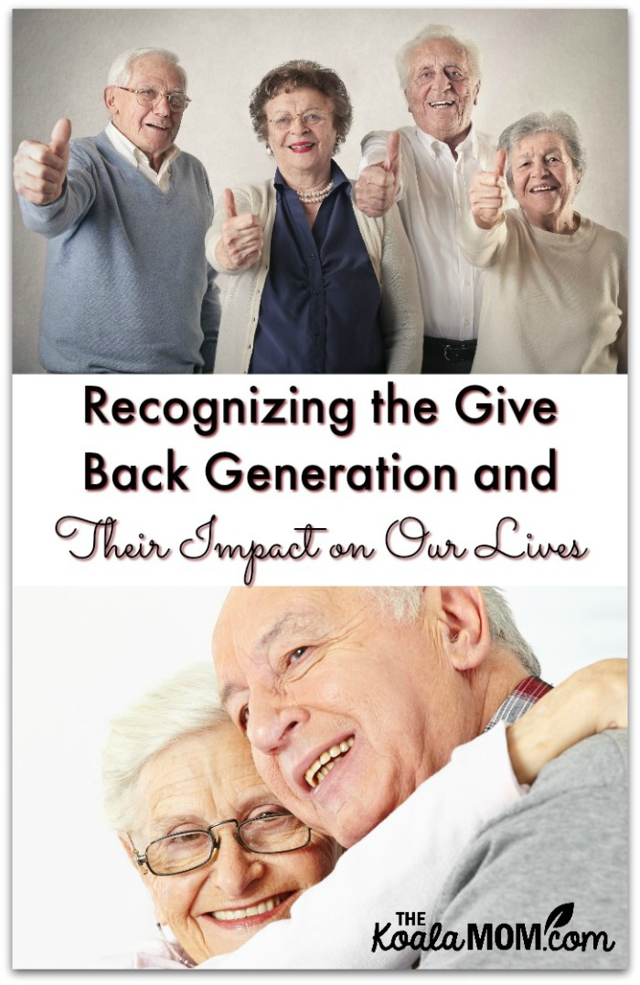 Recognizing the Give Back Generation and their Impact on Our LIves