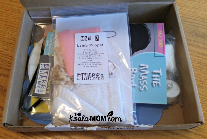 Peeking inside the May 2017 Mass Box