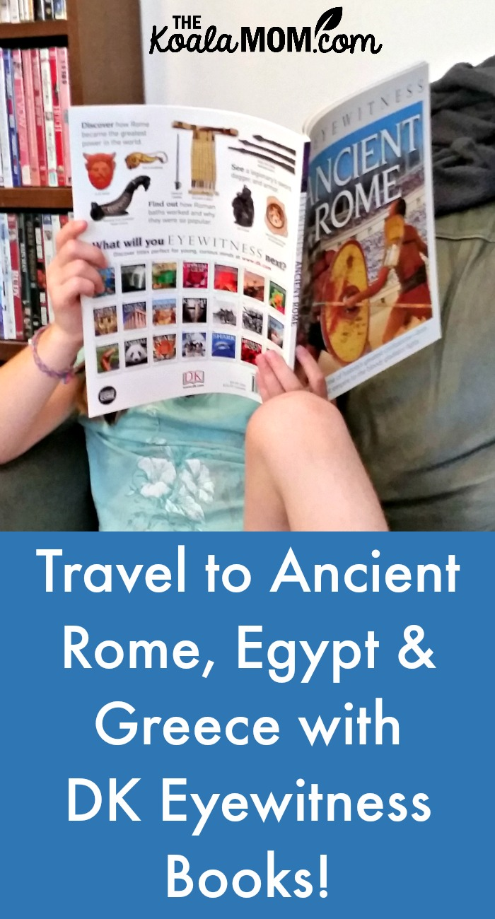 Travel to ancient Greece, Rome and Egypt with DK Eyewitness Books!