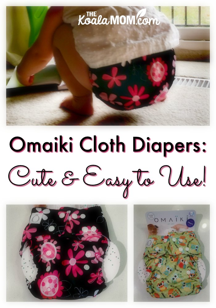 Omaiki Cloth Diapers are cute and easy to use!