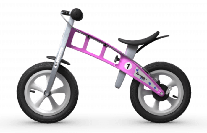 "Purple first bike ""runner"" style bike for toddlers and preschoolers"