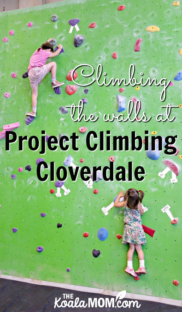 Climbing the walls at Project Climbing Cloverdale