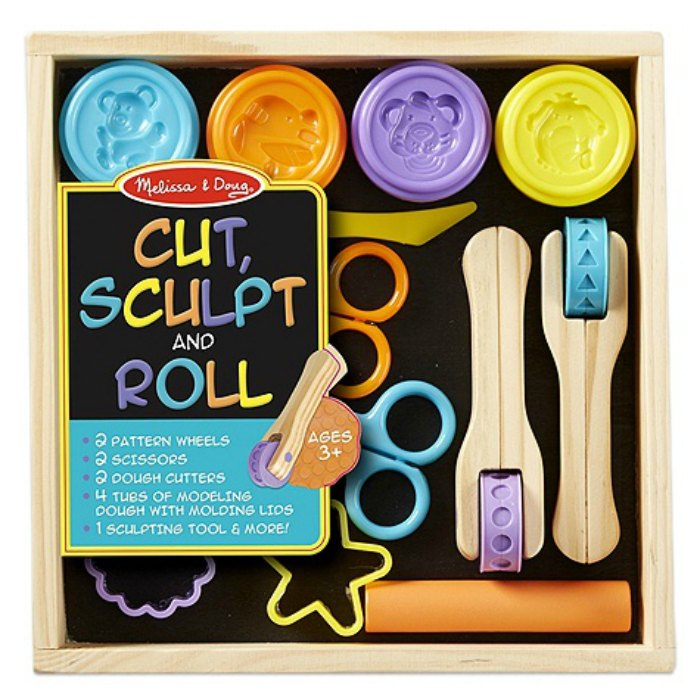 Cult, Sculpt & Roll Clay Play Set from Melissa & Doug