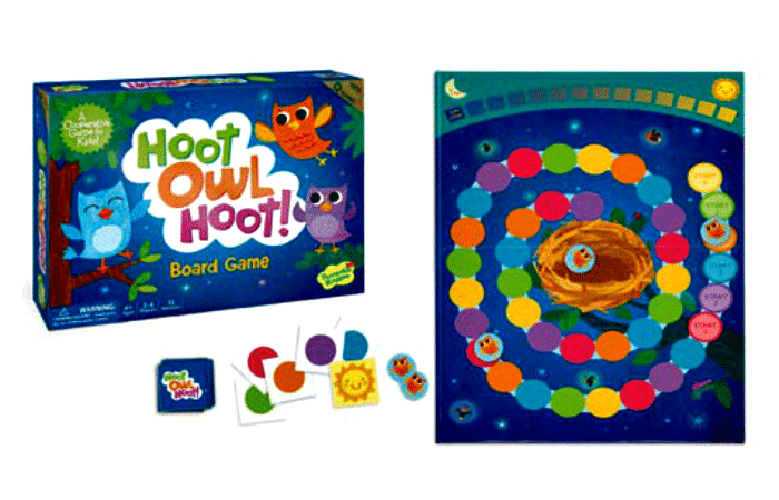 Hoot Owl Hoot board game