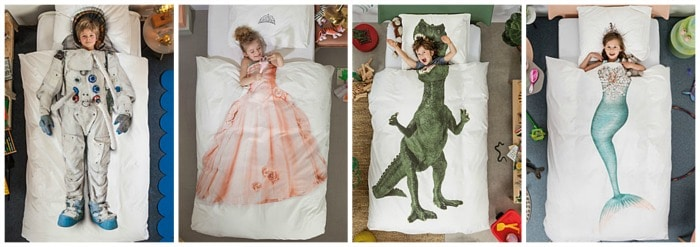 Kids duvet and pillowcase set