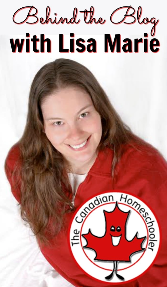 Behind the blog with Lisa Marie Fletcher from the Canadian Homeschooler